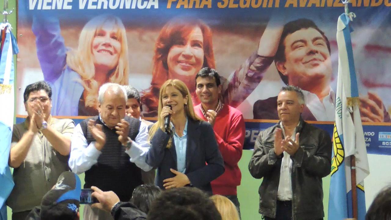 Fuerte apoyo gremial a Domínguez, Espinoza y Magario