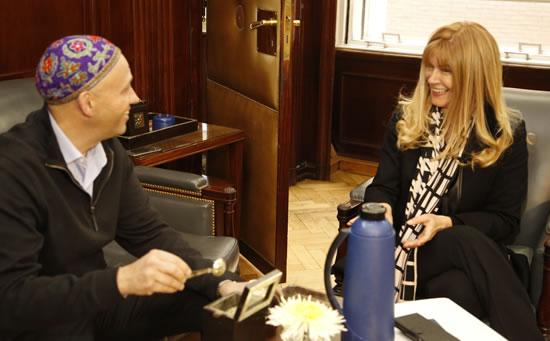 Verónica Magario se reunió con Sergio Bergman