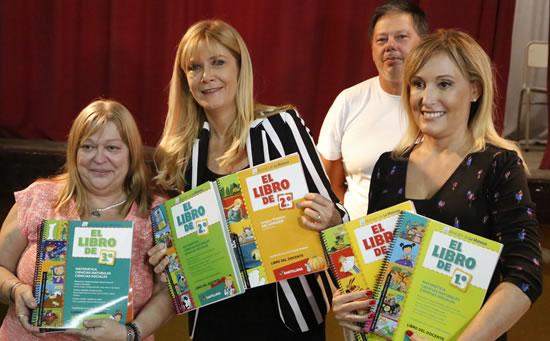 Ya entregamos los libros escolares a todos los alumnos