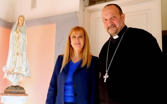 Reunión con el Obispo de Gregorio de Laferrere Monseñor Gabriel Barba