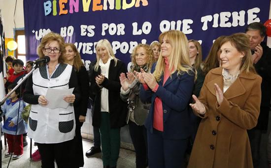 Nuevas aulas para la Escuela Nº 180 de Rafael Castillo