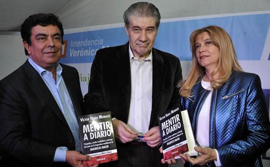 Víctor Hugo Morales presentó su último libro en La Matanza