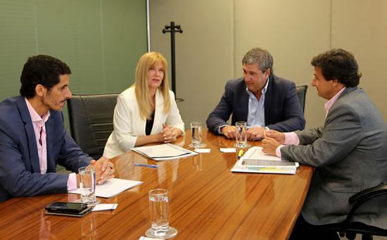Reunión con el Ministro de Infraestructura provincial