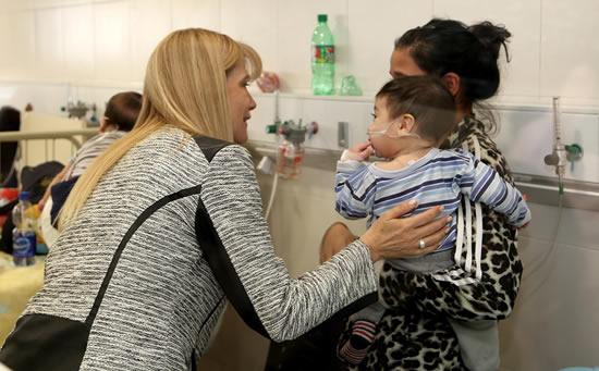 Recorrida por las nuevas instalaciones del Hospital de Niños de San Justo