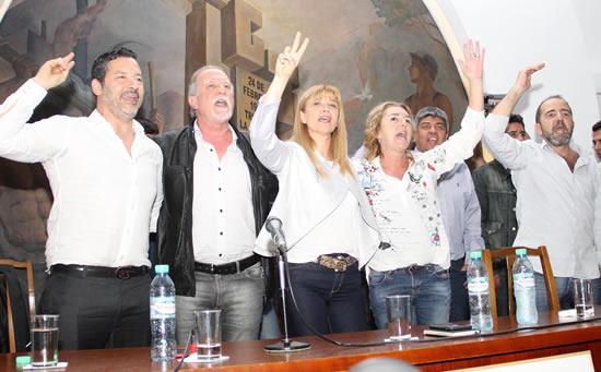 Encuentro con la CGT y homenaje a José Ignacio Rucci